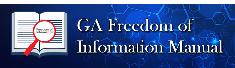 GA Freedom of Information Manual