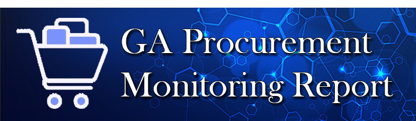 GA Procurement Monitoring Report